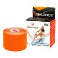 BBTape / БиБи Тейп - кинезио тейп, оранжевый, 5 см x 5 м