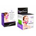 BBTape Face Pack / БиБи Тейп Фейс Пак - кинезио тейп для лица, хлопок, лайм, 2,5 см x 5 м, 2 шт.