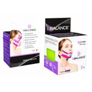 BBTape Face Tape / БиБи Тейп Фейс Тейп - кинезио тейп для лица, хлопок, лайм, 5 см x 5 м