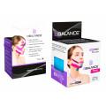 BBTape Face Pack / БиБи Тейп Фейс Пак - кинезио тейп для лица, шелк, голубой, 2,5 см x 5 м, 2 шт.