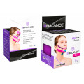 BBTape Face Tape / БиБи Тейп Фейс Тейп - кинезио тейп для лица, шелк, фиолетовый, 5 см x 5 м