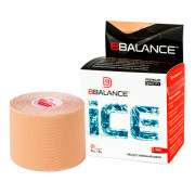 BBTape Ice (SILK) / БиБи Тейп Айс - кинезио тейп, бежевый, 5 см x 5 м