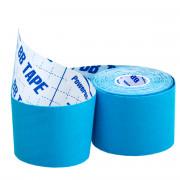 BBTape Ice (SILK) / БиБи Тейп Айс - кинезио тейп, голубой, 5 см x 5 м
