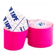 BBTape Ice (SILK) / БиБи Тейп Айс - кинезио тейп, розовый, 5 см x 5 м