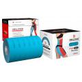BBTape Lymph Tape / БиБи Тейп Лимфа Тейп - кинезио тейп для тела, перфорированный, голубой, 10 см x 5 м