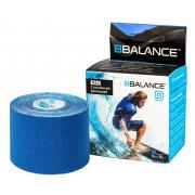 BBTape Max / БиБи Тейп Макс - кинезио тейп с усиленным клеем, темно-синий, 5 см x 5 м