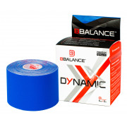 BBTape Dynamic Max / БиБи Тейп Динамик Макс - кинезио тейп, нейлоновый, темно-синий, 5 см x 5 м
