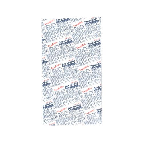 Докапласт - лейкопластырь с мирамистином, 8x15 см