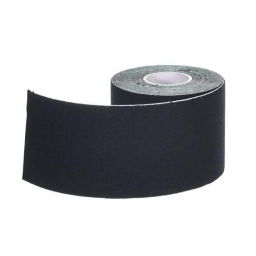 Ergodynamic / Эргодинамик - кинезио тейп, черный, 5 см x 5 м
