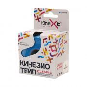 Kinexib Classic / Кинексиб Классик - кинезио тейп для повседневного использования, синий, 5 см x 5 м
