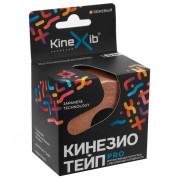 Kinexib Pro / Кинексиб Про - кинезио тейп для экстремальных нагрузок, бежевый, 5 см x 5 м
