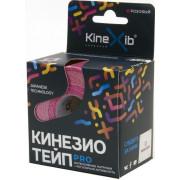 Kinexib Pro / Кинексиб Про - кинезио тейп для экстремальных нагрузок, розовый, 5 см x 5 м