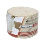 Lauma / Лаума- бинт эластичный, длиннорастяжимый, 8 см x 3,5 м