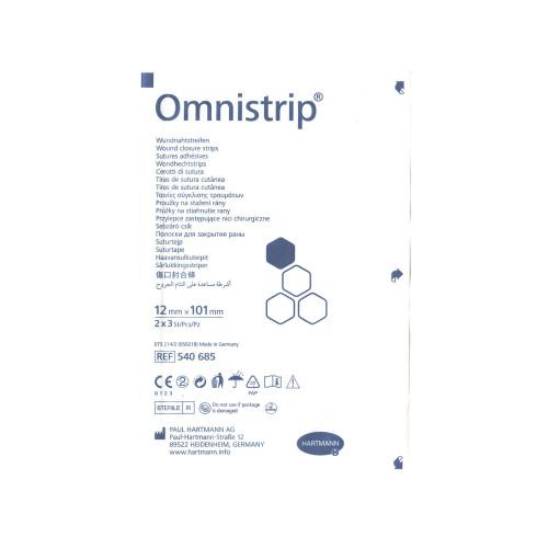 Omnistrip / Омнистрип - стерильные полоски на операционные швы, 12x101 мм,  6 шт.