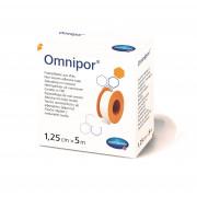 Omnipor / Омнипор - пластырь из нетканого материала, 1,25 см x 5 м