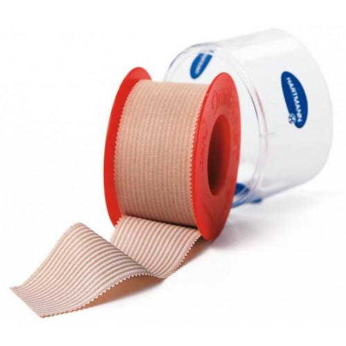 Omniplast / Омнипласт - пластырь из текстильной ткани, телесный, 2,5 см x 5 м