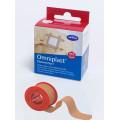 Omniplast / Омнипласт - пластырь из текстильной ткани, с еврохолдером, телесный, 5 см х 5 м