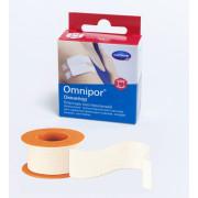 Omnipor / Омнипор - пластырь из нетканого материала, с еврохолдером, 1,25 см x 5 м