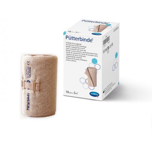 [недоступно] Putterbinde / Пюттербинт - бинт эластичный, среднерастяжимый, 12 см х 5 м