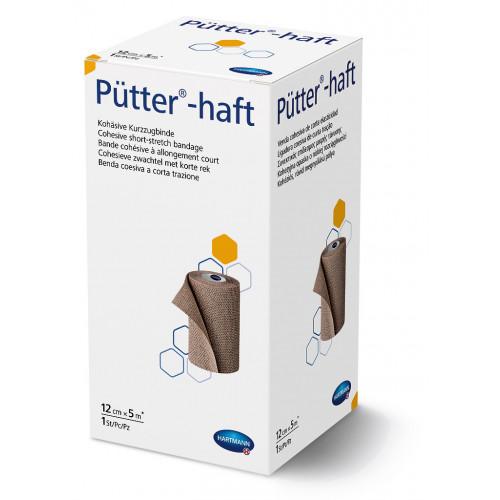 Putter-Haft / Пюттер-Хафт - бинт эластичный, короткорастяжимый, самофиксирующийся, 12 см х 5 м