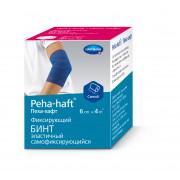 Peha-Haft / Пеха-Хафт - бинт самофиксирующийся, 6 см x 4 м, синий