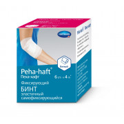 Peha-Haft / Пеха-Хафт - бинт самофиксирующийся, 6 см x 4 м, белый