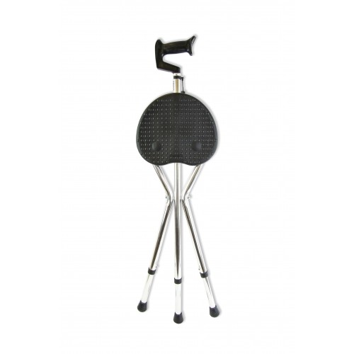 Amrus AMCS37 / Амрос - трость-стул складная, с регулируемой высотой, металлическая