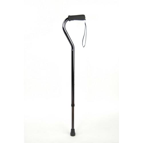 Valentine International 10100SBL / Валентайн Интернэшнл - трость телескопическая, со смещенным центром тяжести, 79-102 см, черная