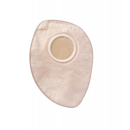 BBraun Almarys Twin+ Colo / БиБраун Алмарис Твин+ Коло - недренируемый непрозрачный мешок для двухкомпонентных калоприемников, 80 мм