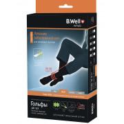B.Well rehab JW-127 / Би Велл - компрессионные гольфы мужские (2 класс, 23-32 мм рт. ст.), №5, черные