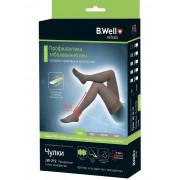 B.Well rehab JW-212 / Би Велл - компрессионные чулки (1 класс, 18-22 мм рт. ст.), №4, черные