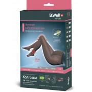 B.Well rehab JW-327 / Би Велл - компрессионные колготки для беременных (2 класс, 22-32 мм рт. ст.), №3, телесные