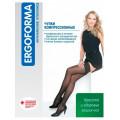 Ergoforma / Эргоформа - компрессионные чулки (1 класс, 18-22 мм. рт. ст.), №4, черные