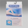 Ergoforma / Эргоформа - антиэмболические чулки (20 мм. рт. ст.), №4, белые