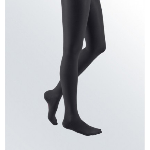 Mediven Elegance / Медивэн Элеганс - компрессионные чулки с кружевной резинкой (2 класс, 23-32 мм. рт. ст.), №3, черные