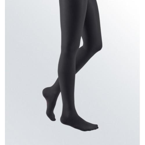 Mediven Elegance / Медивэн Элеганс - компрессионные чулки с кружевной резинкой (2 класс, 23-32 мм. рт. ст.), №5, черный цвет