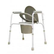 Amrus AMCB6803 / Амрос - кресло-туалет, со спинкой, стальное