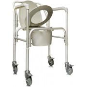 Amrus AMCB6809 / Амрос - кресло-туалет, на колесах