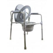Amrus AMCB6809 / Амрос - кресло-туалет со складным ведерком