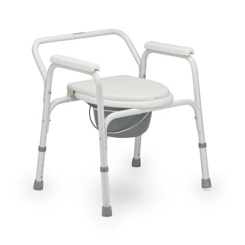 Armed FS810 / Армед - кресло-туалет, со спинкой, стальное