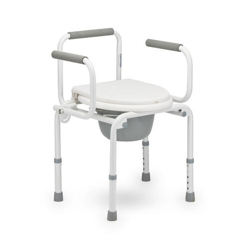 Armed FS813 / Армед - кресло-туалет, со спинкой, с опускающимися подлокотниками