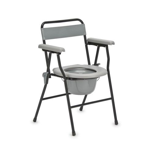 Armed FS899 / Армед - кресло-туалет, со спинкой, облегченное
