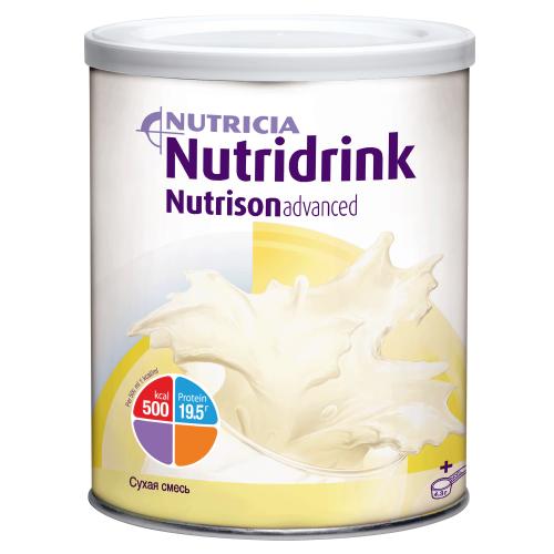 Nutridrink Nutrison Advanced / Нутридринк Нутризон Эдванст, в металлической банке - сухая смесь для энтерального питания, 322 г