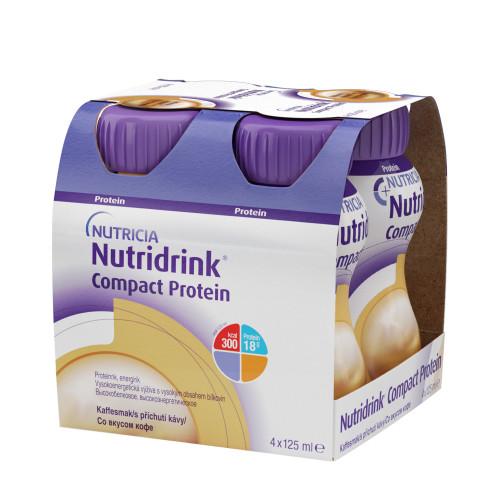 Nutridrink Compact Protein / Нутридринк Компакт Протеин, кофе - жидкая смесь для лечебного питания, 125 мл x 4 шт.