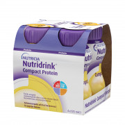 Nutridrink Compact Protein / Нутридринк Компакт Протеин, банан - жидкая смесь для лечебного питания, 125 мл x 4 шт.