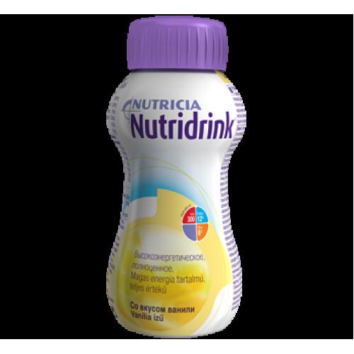 Nutridrink / Нутридринк, ваниль - жидкая смесь для лечебного питания, 200 мл