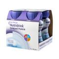 Nutridrink Compact Protein / Нутридринк Компакт Протеин, нейтральный вкус - жидкая смесь для лечебного питания, 125 мл x 4 шт.