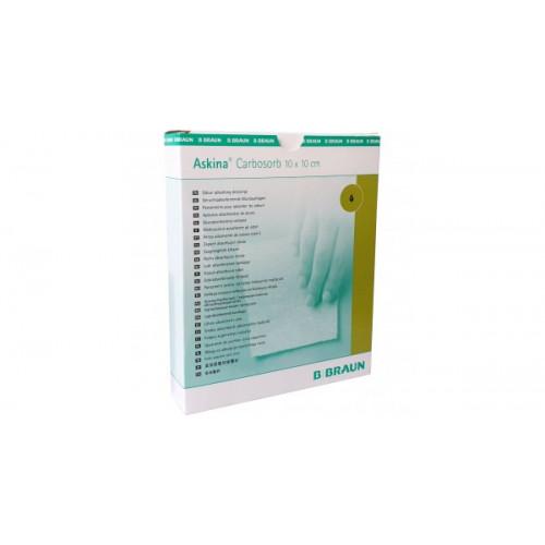 Askina Carbosorb / Аскина Карбосорб - углесодержащая раневая повязка, 10х10 см