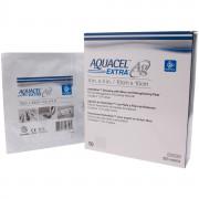 Aquacel Extra Ag / Аквасель Экстра Аг с серебром - абсорбирующая повязка с серебром, 10x10 см