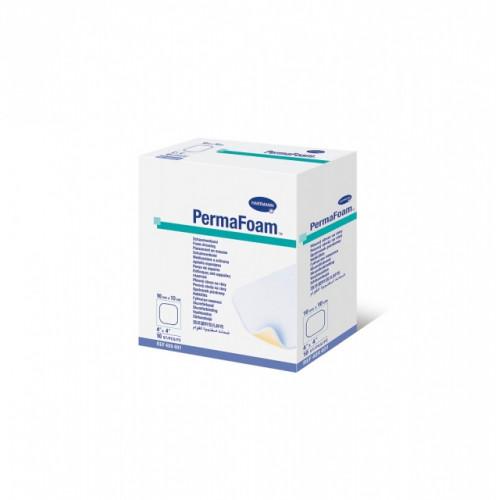 PermaFoam / ПемаФом - губчатая неадгезивная повязка, 10х10 см